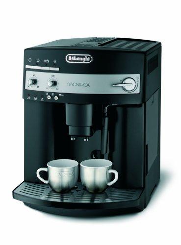 DeLonghi ESAM 3000.B Kaffee-Vollautomat (1100 Watt, 1,8 Liter, 15 bar, Dampfd�se) schwarz