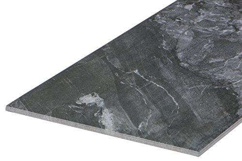 """""""Ice Silver Frost"""" Bodenfliese 30,4x60,8 cm, Feinsteinzeug Fliese mit Stein-Optik und dezenter Stein-Struktur (Musterfliese 1 St�ck)"""
