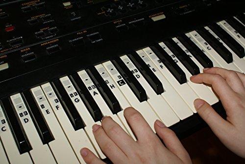 Piano Klavier Keyboard Musik Note Aufkleber Stickers (alle typen) C-D-E-F-G-A-H