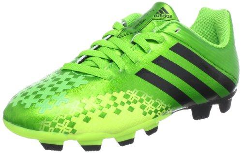 adidas Performance Predito LZ TRX FG J Q21684, Jungen Fu�ballschuhe, Gr�n (RAY GREEN F13 / BLACK 1 / ELECTRICITY), EU 37 1/3 (UK 4.5)