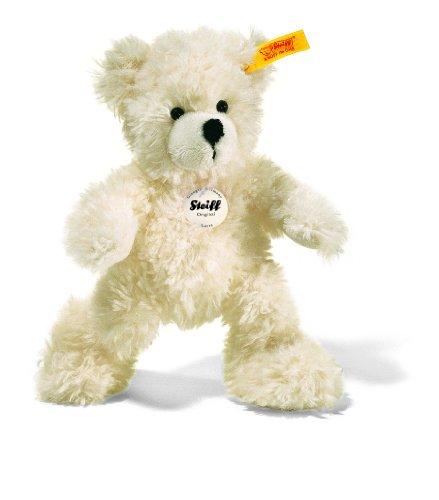 Steiff 111365 - Teddyb�r 18 cm Lotte weiss