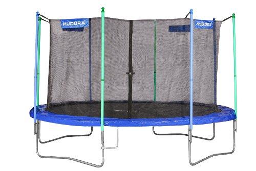 HUDORA Fitness Trampolin mit Sicherheitsnetz, 400 cm, 65400