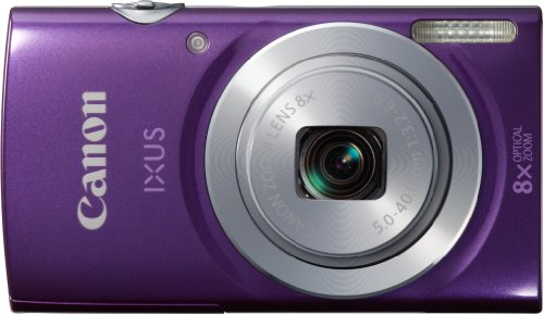 Canon IXUS 145 Digitalkamera (16 Megapixel, 8-fach opt. Zoom, 6,8 cm (2,7 Zoll) LCD-Display, HD-Ready) violett