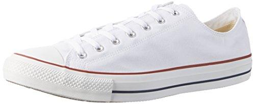 Converse Converse Sneakers Chuck Taylor All Star M7652, Unisex-Erwachsene Sneakers, Wei� (Optical White), 38 EU (5.5 Erwachsene UK)