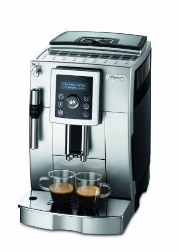 DeLonghi ECAM 23.420.SB Kaffee-Vollautomat (1,8 Liter, Cappuccino, Dampfd�se) silber/schwarz