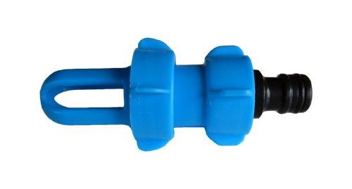 Wasserbett F�ll- und Entleerungsadapter BLUE MAGIC mit Gardena-kompatiblem Schlauchanschluss