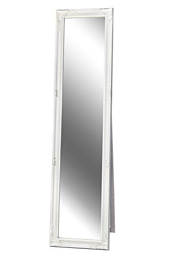 Standspiegel Spiegel Barock wei� GLORIA 160 x 40 cm