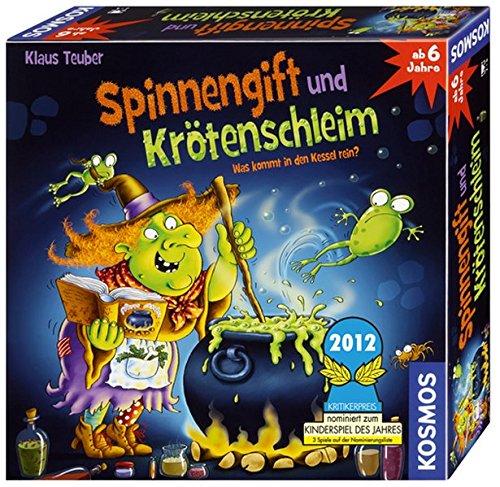 Kosmos 6986520 - Spinnengift und Kr�tenschleim: Was kommt in den Kessel rein?