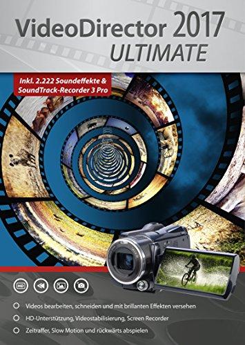 VideoDirector 2017 Ultimate - Videos bearbeiten, schneiden, optimieren f�r beeindruckende Videos inkl. 2.222 Soundeffekte f�r deine Videos