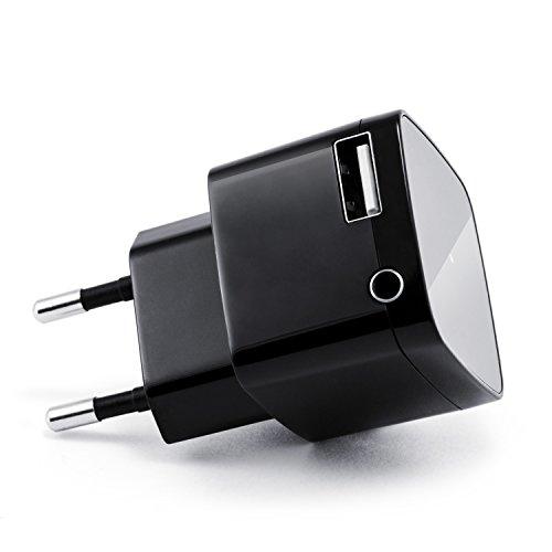 CSL Bluetooth Receiver mit USB Ladeanschluss / Audio-Empf�nger | schnurloser- / kabelloser Musikadapter | Bluetooth Audio-Receiver | f�r Bluetooth Audioger�te (Smartphone/Tablet / HiFi Anlage / Autoradio) | Bluetooth V2.1 + DER | 3,5mm Klinke Buchse | A2DP und AVRCP | bis zu 10m Reichweite | kabelloses Musikstreaming