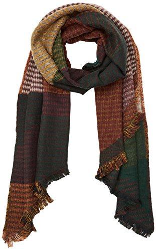 PIECES Damen Schal Pcdamilla Long Scarf, Gr�n (Scarab), One size