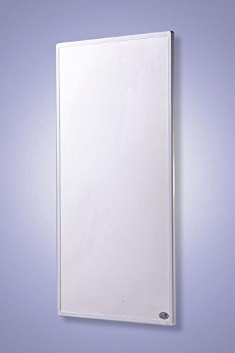 Infrarot Heizung mit Digitalthermostat Elektroheizung mit Stecker f�r Steckdose - 5 Jahre Premium-Herstellergarantie- Elektroheizung mit �berhitzungsschutz und T�V - Heizt nach dem Prinzip der Sonne - heizt im optimalen Wellenl�ngenbereich von 8-15� - Sonnenheizung (130 Watt)