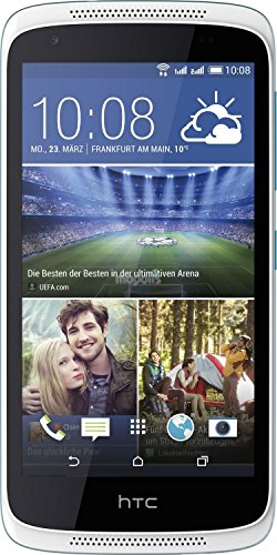 HTC Desire 526G Smartphone (12 cm (4,7 Zoll) Display, 8GB interner Speicher, Android 4.4 OS) Glacier Blau