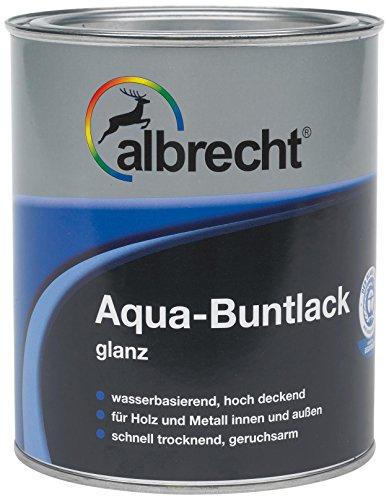 Albrecht Aqua-Buntlack glanz 375 ml, wei�, 3400505900901000375