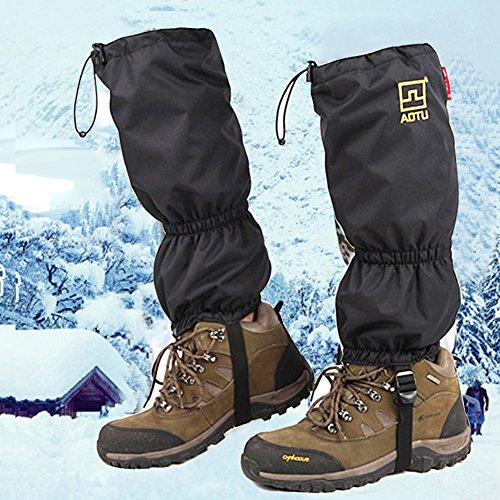 JTENG Outdoor gamaschen wasserdichte Gamaschen Gaiter f�r Outdoor-Hosen zum Wandern, Klettern und Schneewandern wandernde gehende kletternde Jagd-Schnee Legging Gamaschen 1 Paar�