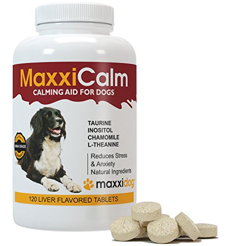 MaxxiCalm, Beruhigungshilfe f�r Hunde, 120 Tabletten mit Lebergeschmack