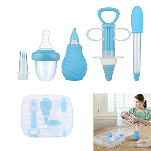 LianLe Babypflege-6Set Medicator Medizin Spender Medikamente Ger�t /0-3Jahre