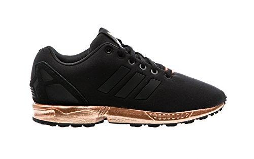 adidas Damen ZX Flux Laufschuhe, Schwarz (Core Black/Core Black/Copper Met.), 40 EU