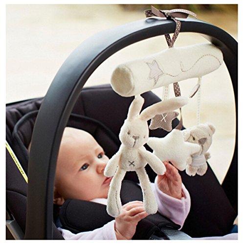EJY H�ngende Sprach Musik Spielzeug Mobile Kaninchen Spielzeug f�r Baby