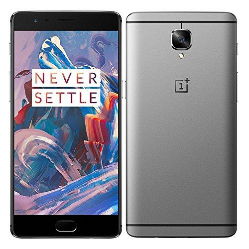 ONEPLUS 3 THREE 6GB RAM 64GB ROM Qualcomm Snapdragon 820 2.2GHz Quad Core 5.5 Inch 2.5D AMOLED Corning Gorilla Glass 4 FHD Screen Android 6.0 4G LTE Smartphone Grey