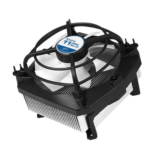 ARCTIC Alpine 11 PRO Rev.2 - Fl�sterleiser Prozessork�hler f�r Intel-CPUs - bis zu 95 Watt K�hlleistung durch 92 mm PWM L�fter - Schwingungsd�mpfende