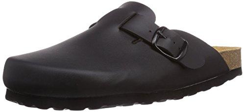 Lico BIOLINE CLOG, Unisex-Erwachsene Pantoffeln, Schwarz (SCHWARZ), 42 EU (8 Erwachsene UK)