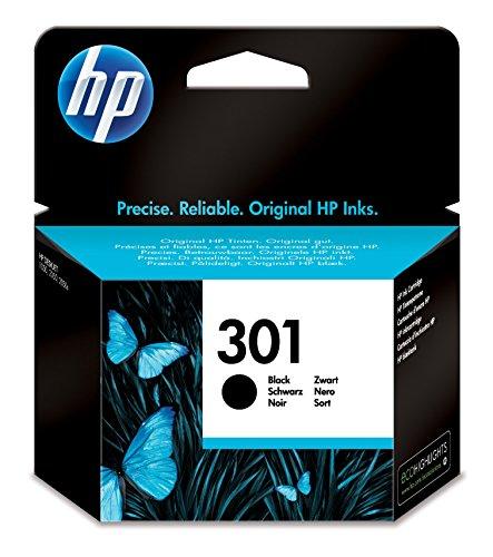 HP 301 Schwarz Original Druckerpatrone f�r HP Deskjet, HP ENVY, HP Photosmart