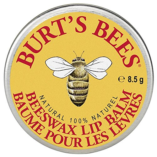 Burt's Bees 100% Natural Lip Balm Tin, Beeswax (100�% nat�rlicher Lippenbalsam in der traditionellen Dose), 1er Pack (1x 8.5g)