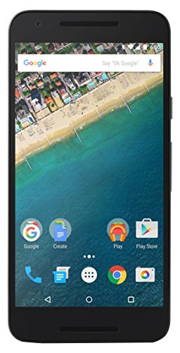 Google Nexus 5X Smartphone (5,2 Zoll (13,2 cm) Touch-Display, 16 GB interner Speicher, Android 6.0) eisblau