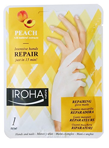 Iroha Handschuhmaske - Peach Glove Mask - Regenerating, 2er Pack (2 x 2 St�ck)
