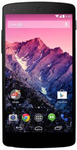 Google Nexus 5 Smartphone (4,95 Zoll (12,6 cm) Touch-Display, 16 GB Speicher, Android 4.4) schwarz