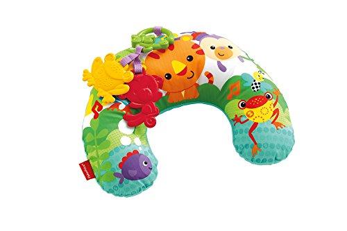 Mattel Fisher-Price CDR52 Rainforest Spielkissen zum bequemen Spielen in der Bauchlage