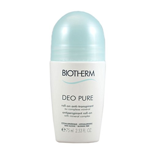 Biotherm Deodorant Pure Roll-On unisex, Deodorant Roller 75 ml, 1er Pack (1 x 0.109 kg)