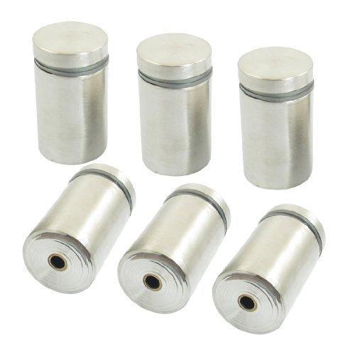6 St�ck 25mm x 40mm Silbern Ton Abstand Schelle Eisenwaren f�r Werbung