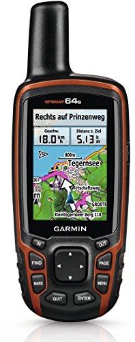 Garmin GPSMAP 64s Navigationshandger�t - 2,6''-Farbdisplay, barometrischer H�henmesser, Live Tracking