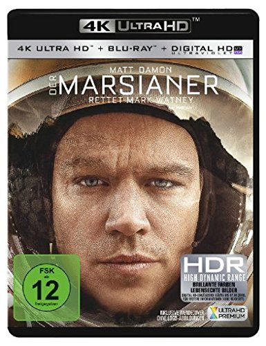 Der Marsianer - Rettet Mark Watney  (4K Ultra HD) (+ Blu-ray)