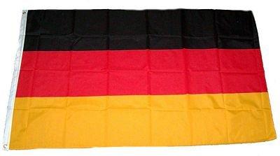 MM Deutschland Fahne/Flagge im Gro�format 150 x 90 cm