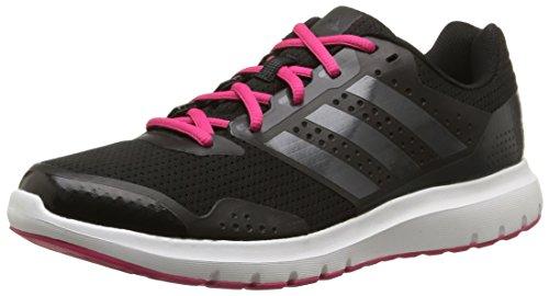 adidas Duramo 7, Damen Laufschuhe, Schwarz (Core Black/Night Met, Bold Pink), 41 1/3 EU (7.5 Damen UK)