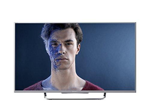 Sony KDL-50W815B 126cm (50 Zoll) 3D-LED-Backlight-Fernseher (Full HD, 600Hz Motionflow XR, Smart View, DVB-T/T2/C/S/S2, CI+, WLAN, Skype, X-Reality PRO)